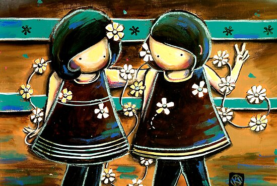 Daisy Chains by © Karin  Taylor