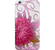 Aster In Tray - Digital Artwork iPhone Case/Skin