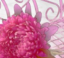 Aster In Tray - Digital Artwork Sticker