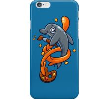 Artistic Dolphin 1 iPhone Case/Skin
