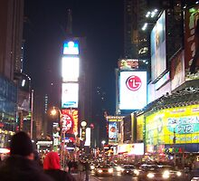 Times Square by Emma and Dave Atkinson