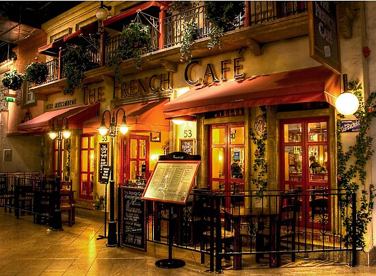 The French Cafe by Dave Warren
