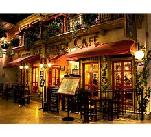 The French Cafe Photographic Print
