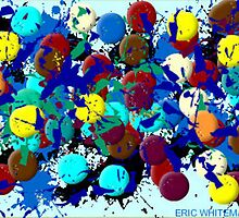 (UNHAPPY DAY ) ERIC WHITEMAN ART  by eric  whiteman