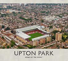 Vintage Football Grounds - Upton Park (West Ham United FC) by twelfthman