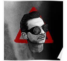Depeche Mode : Goggles Dave Gahan & 2013's Delta  Poster