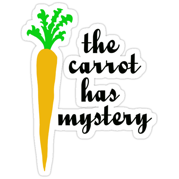The carrot has mystery by benjy