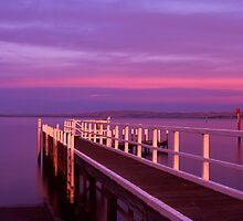serenity... by Tony Middleton
