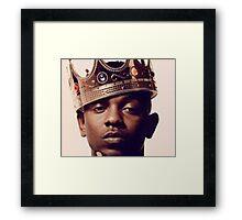 King Kendrick Lamar Framed Print