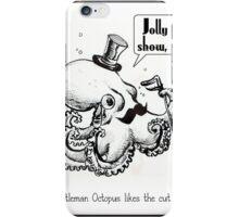 Fancy Gentleman Octopus iPhone Case/Skin