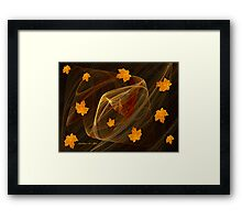 Autumn Twister Framed Print