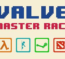 VALVE master race by Gabriel Vieira