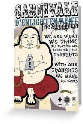 The Strongman by thickblackoutline