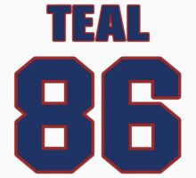 National football player Jimmy Teal jersey 86 by imsport