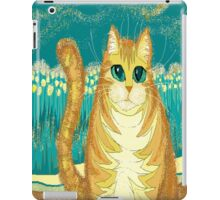 Cat And Pollen iPad Case/Skin
