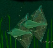 ANGEL FISH by Madeline M  Allen