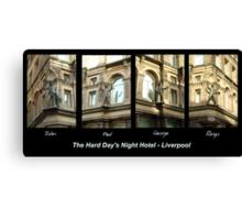 Hard Day's Night Hotel - Liverpool Canvas Print