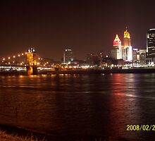 Cincinnati Night by daniel41016