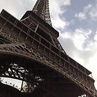 Eiffel Tower by Blondilox