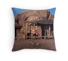 The Pseudo Navajo Throw Pillow