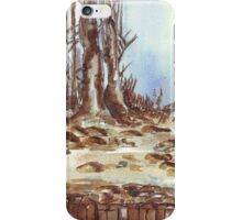 My neighbour's trees iPhone Case/Skin