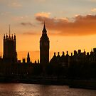 Ben & Thames Sunset by Scott Harding
