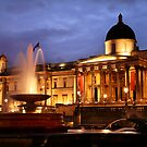 Trafalgar Square & National Gallery by Scott Harding