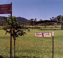 Cape Tribulation Airport, Daintree Rainforest, QLD  by retsilla