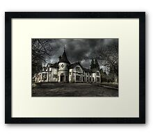 The Way to School Framed Print