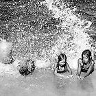 Kids on the beach  by Olivera Jelaca Bartoli