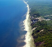 Lake Michigan sand dunes by Paladin27