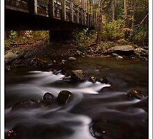 Bridge at the Confluence GSMNP by ThomasRBiggs