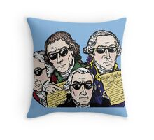 Founding Father Dudes Throw Pillow