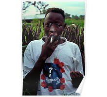 Omar on Ginak Island Poster