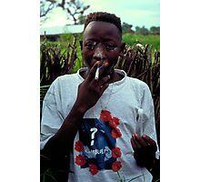 Omar on Ginak Island Photographic Print