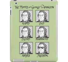 The Moods of George Washington iPad Case/Skin