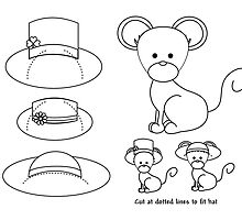 Paper Mouse Print-out. by trennea