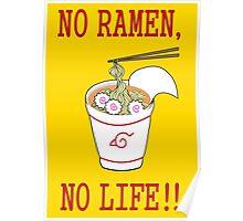 No Ramen, No Life!! Poster