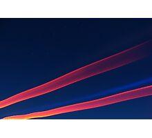 Streaks of Light Photographic Print
