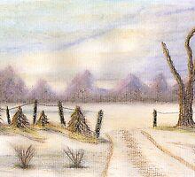 Winter Snow Scene by davethewave