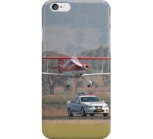 """Pull Over Sir"" @ Mudgee Air Show 2007 iPhone Case/Skin"
