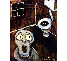 Toilet Monster Photographic Print