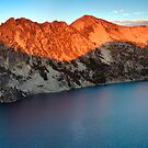 Sawtooth Lake Panorama by Nolan Nitschke