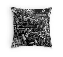 The Great Wizarding World of Harry Potter Throw Pillow