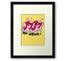 I also have a bag of marzipan JoyJoys Framed Print