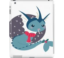 Vaporeon Christmas T and Merch  iPad Case/Skin