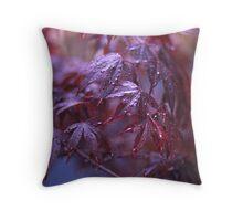 acer palmatum Throw Pillow