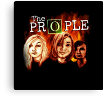 """The Prople: """"The Return"""" Canvas Print"""
