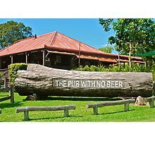 The Pub With No Beer Photographic Print