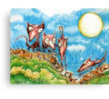 Rat Moon Canvas Print